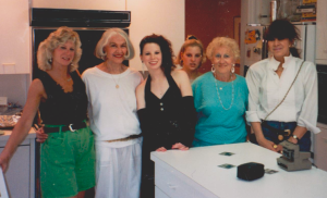 (Great moms in my life together for my junior prom. A picture that would not otherwise be released!)